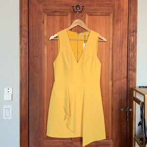 Alice and Olivia Yellow Dress